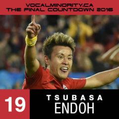 VMP 2016 Final Countdown #19: Tsubasa Endoh