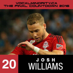 VMP 2016 Final Countdown #20 – Josh Williams