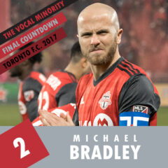 VMP Final Countdown 2017: Number 2 – Michael Bradley