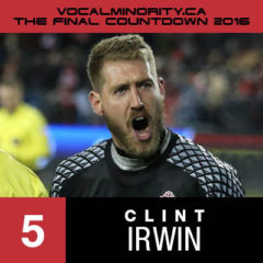 VMP 2016 Final Countdown #5: Clint Irwin