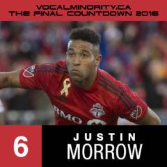 VMP 2016 Final Countdown #6: Justin Morrow